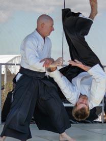 Ethan Monnot Weisgard 6th Dan Aikikai Copenhagen Aiki Shuren Dojo founder, chief instructor